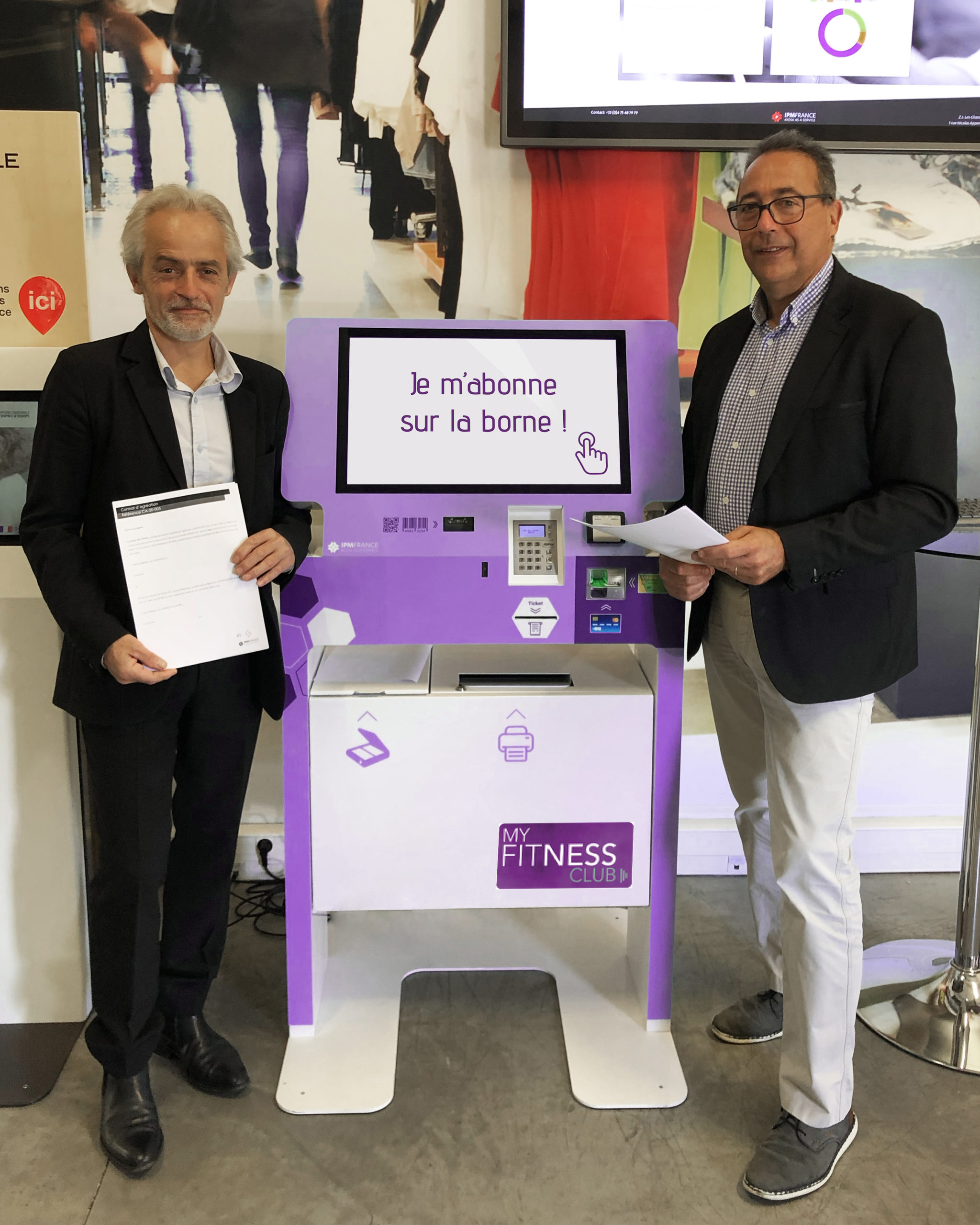 BORNES TACTILES pour les FRANCHISES : le partenariat PAM/IPM France